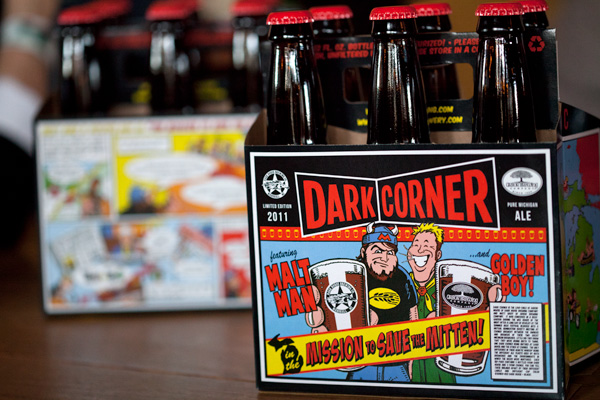 Dark Corner Imperial Brown Ale