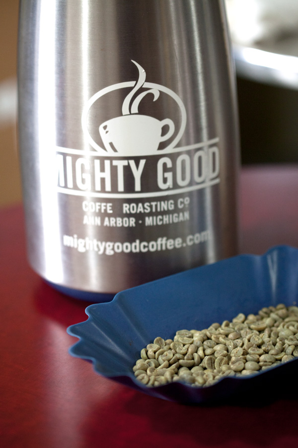 Mighty Good Coffee, Ann Arbor, Michigan.