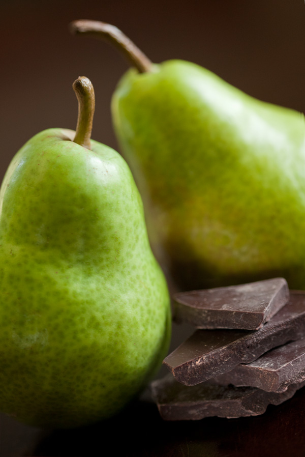 Pear and dark chocolate