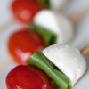 Insalata Caprese, a salad (literally translated, salad in the style of Capri).